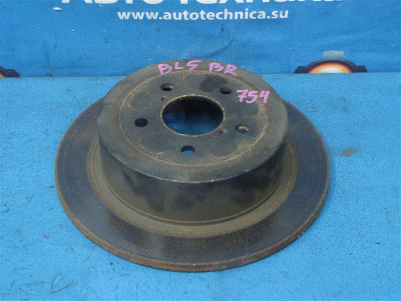 Задние тормозные диски с насечками - project my