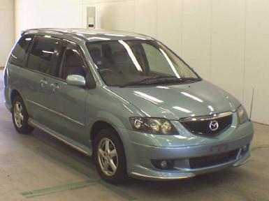 передние двери на mazda mpv 2002 года