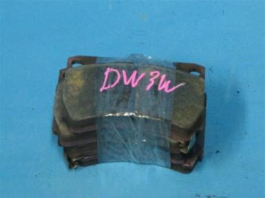 колодок передние mazda dw3w